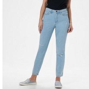 Denim & Co. Regular Classic Denim Ankle Jeans 044